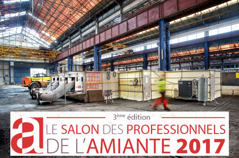 Ginger au salon des professionnels de l 39 amiante 2017 for Salons professionnels 2017