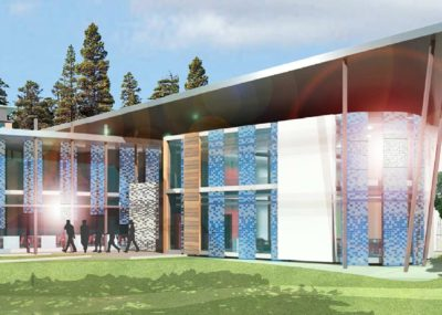modélisation d'un bâtiment en nouvelle-Calédonie